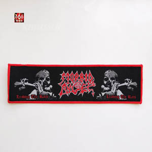 MORBID ANGEL 官方原版 Leading The Rats (Woven Patch)