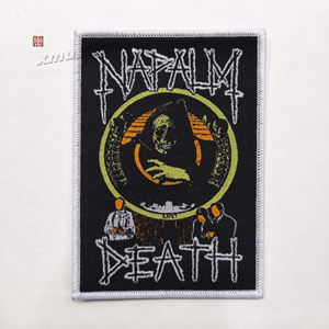 NAPALM DEATH 官方进口原版 Life (Woven Patch)