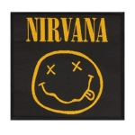 NIRVANA 官方进口原版 Smile Face (Woven Patch)