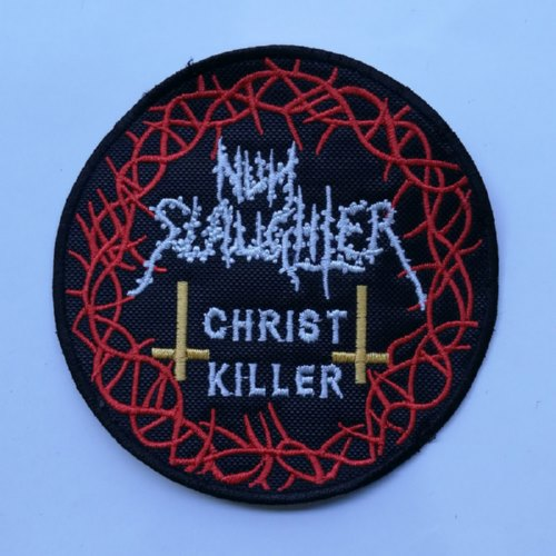 NUNSLAUGHTER - Christ Killer (Embroidered Patch)
