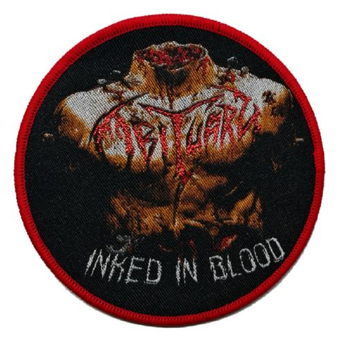 OBITUARY 官方进口原版 Inked Blood (Woven Patch)