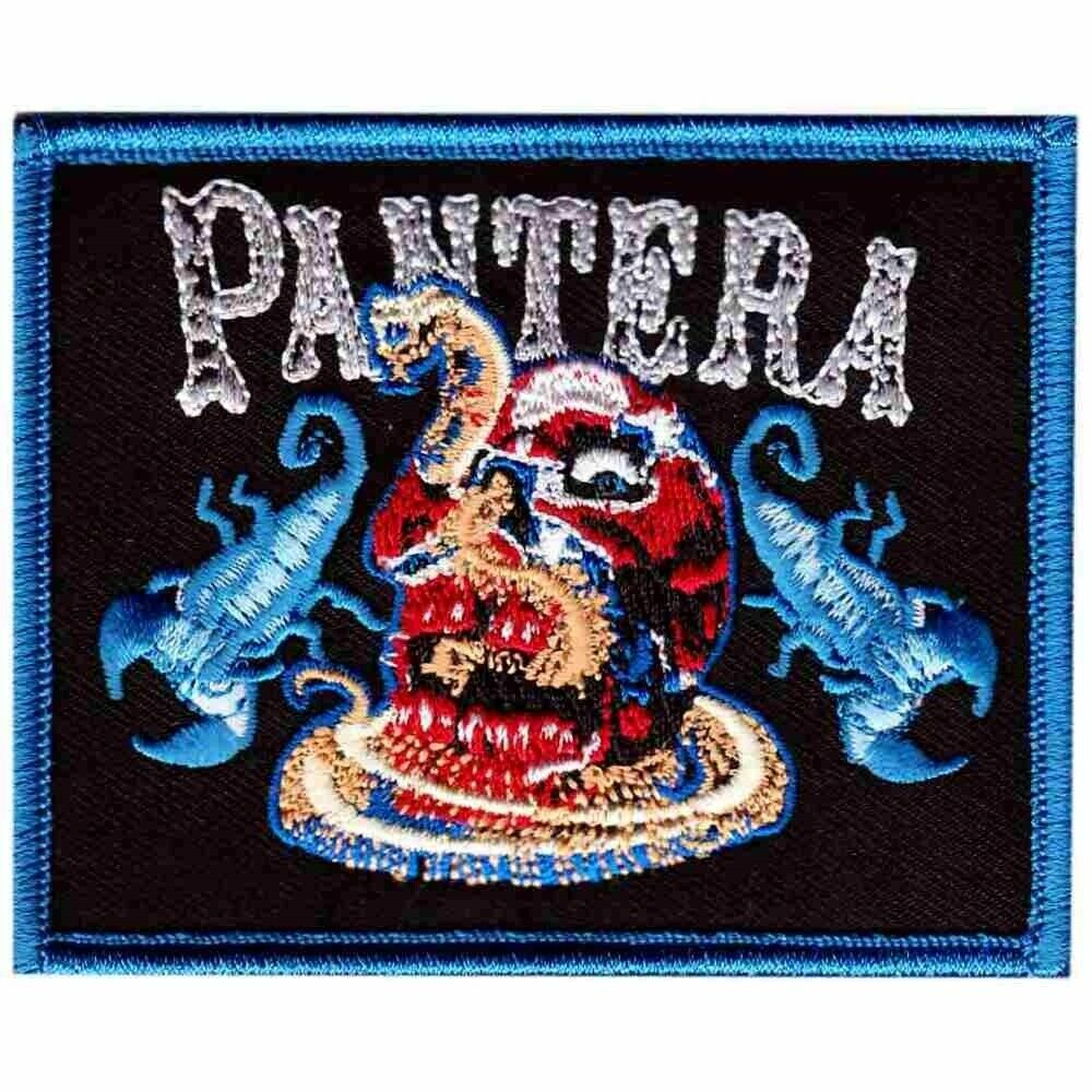 PANTERA 官方原版 Snakes & Scorpions  (Embroidered Patch)