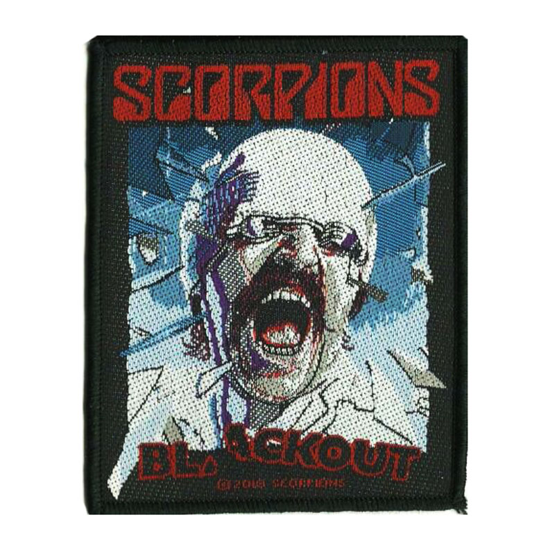 SCORPIONS 官方进口原版 Blackout (Woven Patch)