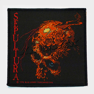 SEPULTURA 官方进口原版 Beneath The Remains (Woven Patch)