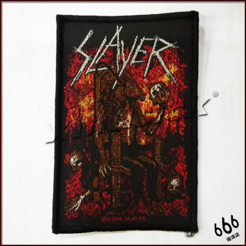 SLAYER 官方原版 Bloody Reign (Woven Patch)
