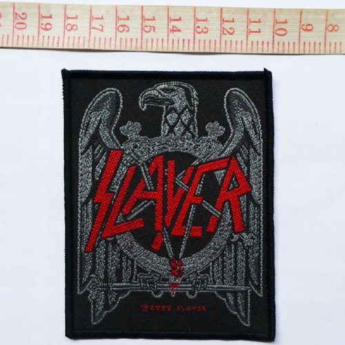 SLAYER 官方原版 Black Hawk (Woven Patch)