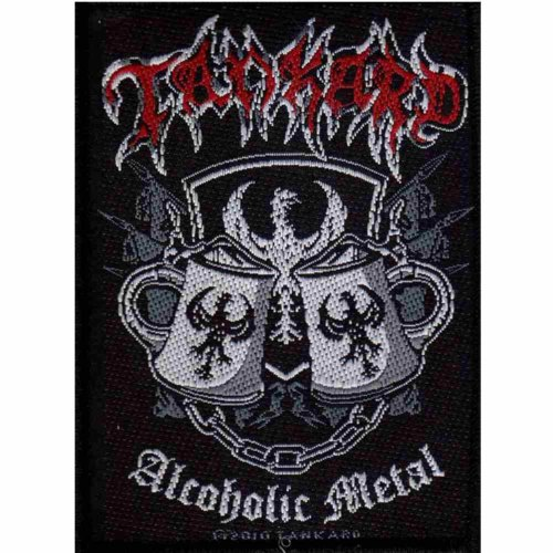 TANKARD 官方进口原版 Alcoholic Metal (Woven Patch)