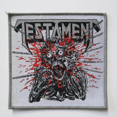 TESTAMENT 官方进口原版 Return To The (Woven Patch)