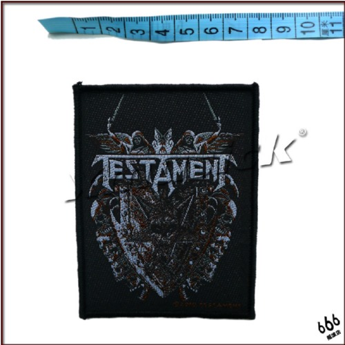 TESTAMENT 官方进口原版 Shield (Woven Patch)