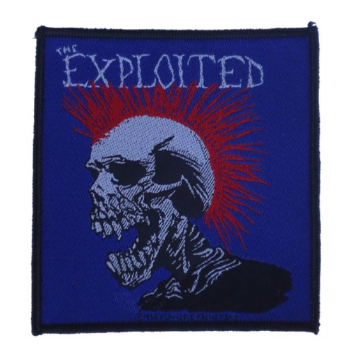 EXPLOITED, THE 官方进口原版 Mohowk (Woven Patch)