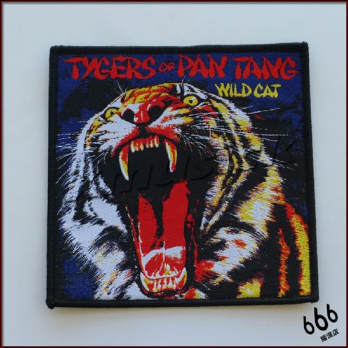 TYGERS OF PAN TANG 美国进口原版 Wild Cat (Woven Patch)