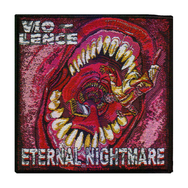 VIO-LENCE 官方原版 Eternal Nightmare (Woven Patch)