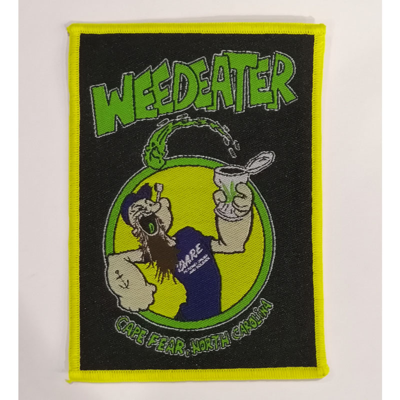 WEEDEATER 官方原版 Cape Fear North Carolina (Woven Patch) 通用