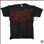 SLAYER 官方原版 Bleeding Logo 扎染014 (TS-XXL)