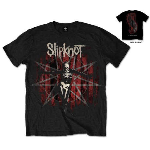 SLIPKNOT 官方原版 The Grey Chapter Star (TS-M)