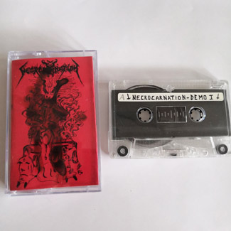 NECROCARNATION - Perverted Desire 血签 (Cassette)