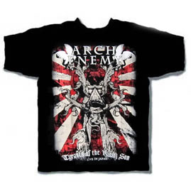 ARCH ENEMY - Tyrants of the Rising Sun (TS-S) TTR1906