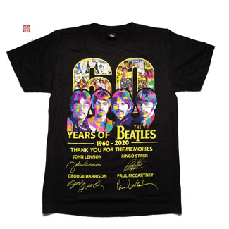 BEATLES, THE - 60 Years Of The Beatles (TS-M) TTH2007