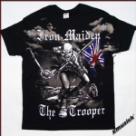 IRON MAIDEN - The Trooper 全印 (TS-L) TTO1703