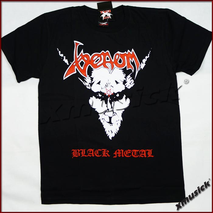 VENOM - Black Metal (TS-XL) TTH1906