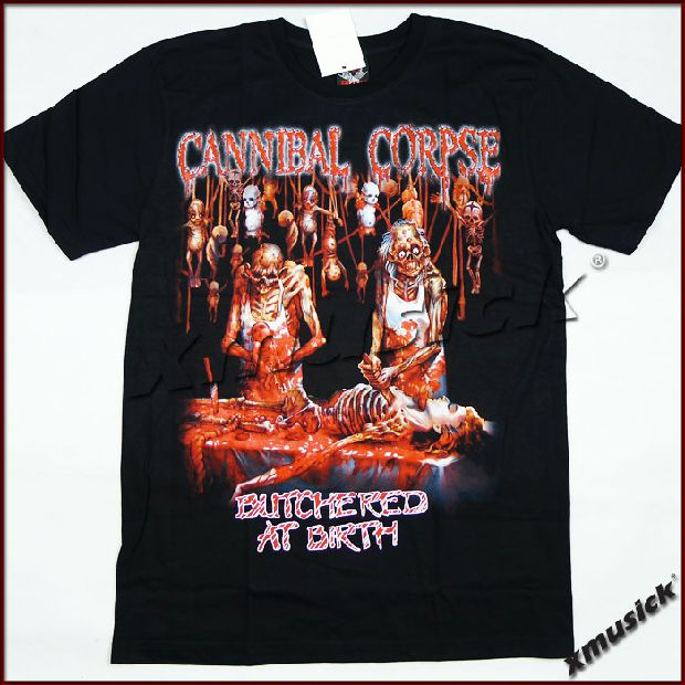 CANNIBAL CORPSE - Butchered at Birth (TS-XXL) TTH2005
