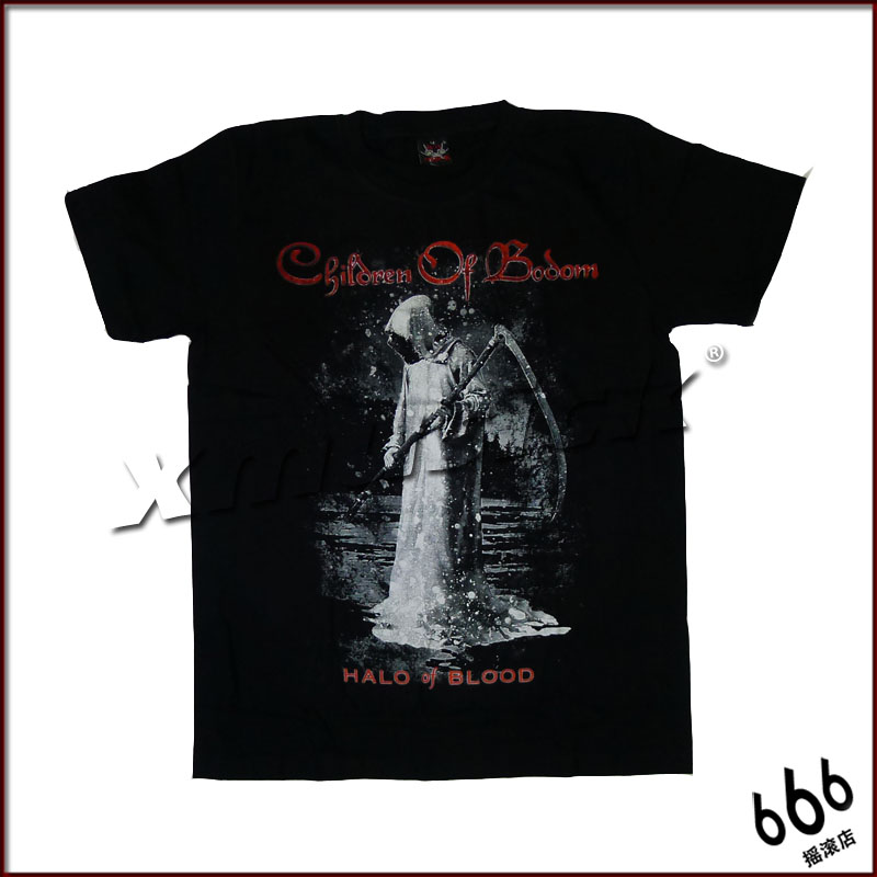CHILDREN OF BODOM - Halo Of Blood (TS-XXL) TTH2007