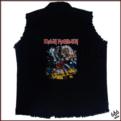 IRON MAIDEN 官方原版 工装 Number of the Beast (WS-XL)