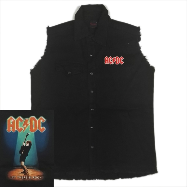 AC/DC 官方原版工装马夹 Let There Be Rock (WS-L)