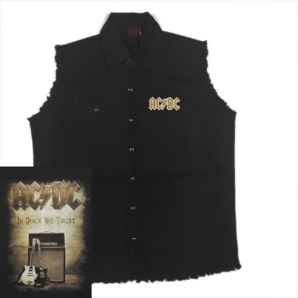 AC/DC  官方原版 工装 In Rock We Trust (WS-L)