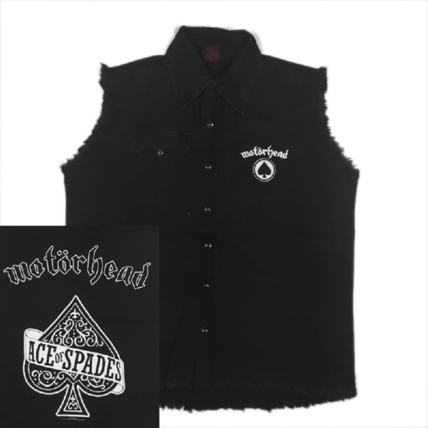 MOTORHEAD 官方原版工装 Ace of Spades (WS-L)